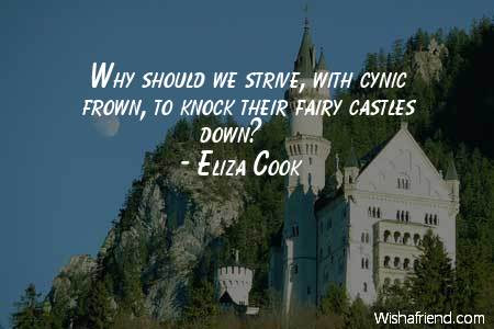 Eliza Cook Quote Why Should We Strive With Cynic Frown To Knock