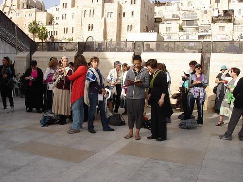 Women of the Wall, hol ha-mo'ed Pesah 2010