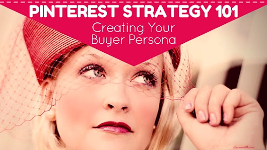 Pinterest Strategy 101 - Creating Your Buyer Persona - Alisa Meredith - Inbound Content Marketing with Pinterest
