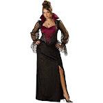 Midnight Vampiress Women's Costume, 3X