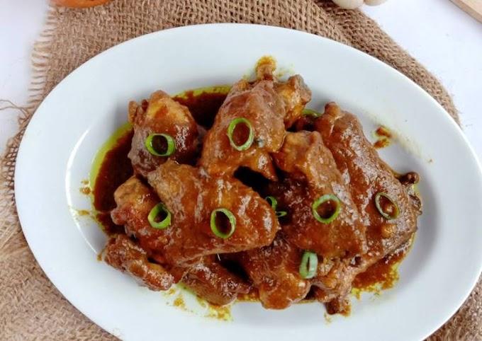 Cara Mudah Membuat Semur ayam kecap Lezat