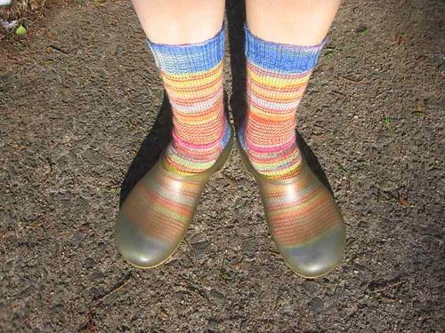 Helical Stripe Socks