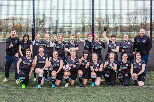 Search Scientist Supporting Ladies Football - Belfast Ravens