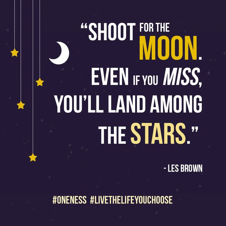 Always Shoot For The Moon Quote Kylinfloor