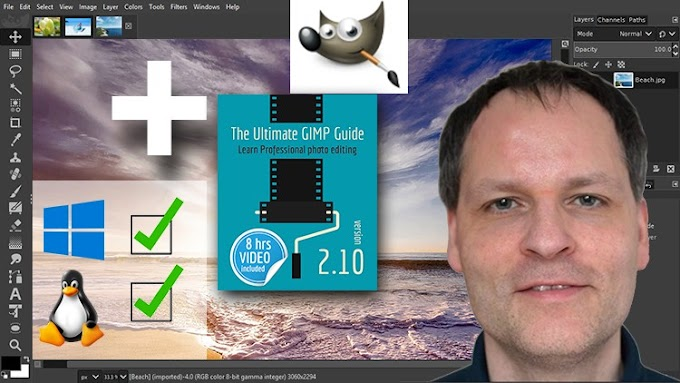 [100% Off UDEMY Coupon] - The Ultimate GIMP 2.10 Guide►Book included as sold on Amazon