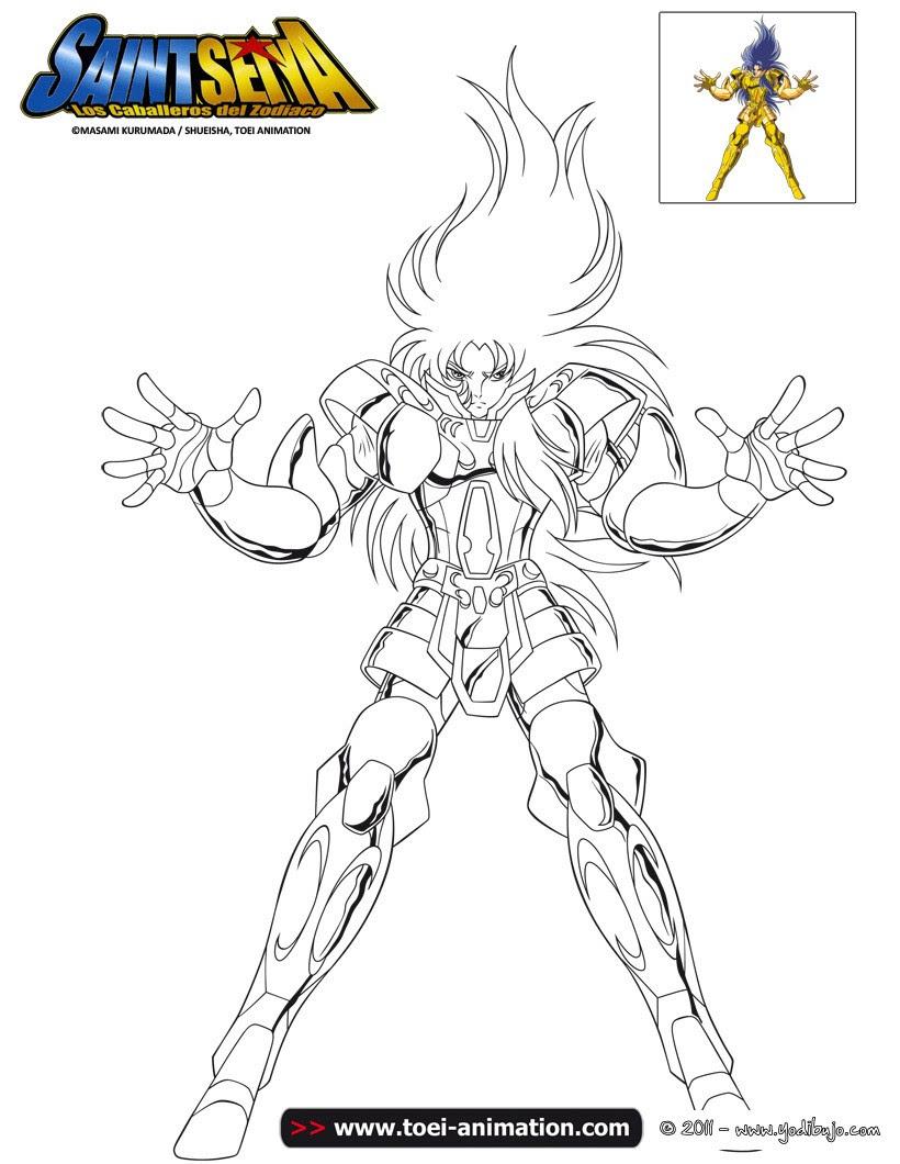 Dibujos Para Colorear Saga De Geminis Eshellokidscom