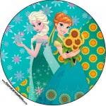 Toppers para Docinhos Frozen Fever Cute