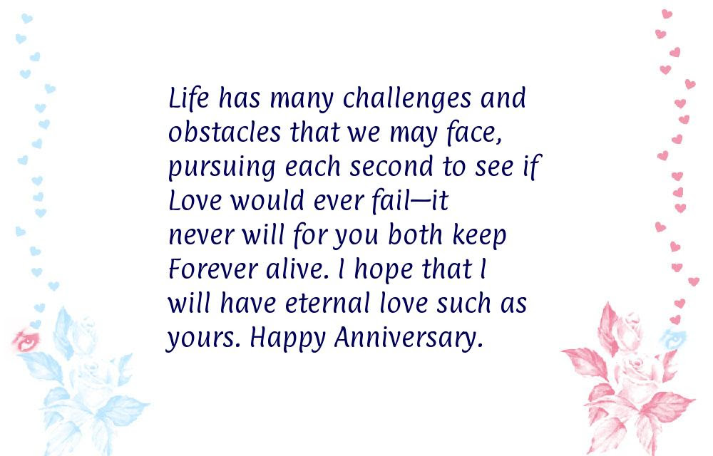 Quotes About Wedding Anniversary For Parents 16 Quotes