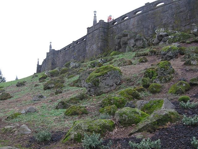 ramparts, rocky butte