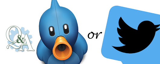 Q&A Giveaway: TweetBot or TweetDeck comment to win
