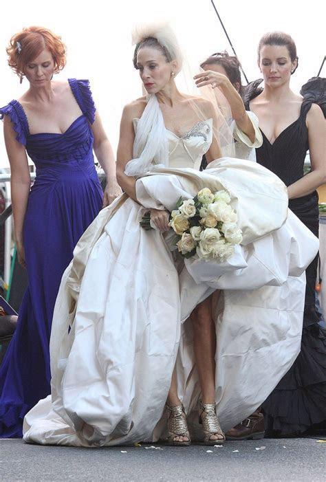 25  Best Ideas about Carrie Bradshaw Wedding Dress on