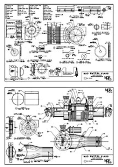 loudmouth free piston jet engine DIY plans kit project