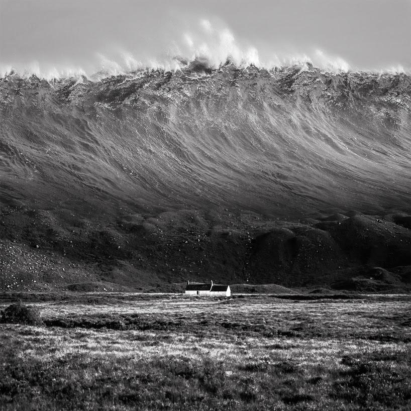 J flynn newton drOWNing SKY photography series