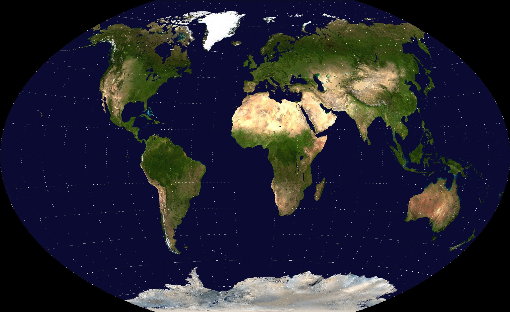 Wiki map of the world