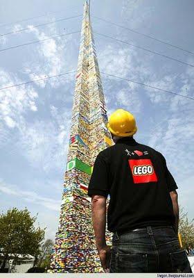 Ο ψηλότερος πύργος από Lego