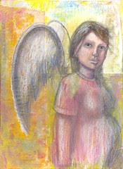 Preg Angel - Work in progress by Blissful Pumpkin