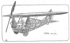 Le sport de l'air-Comment j'ai construit mon avionnette 166