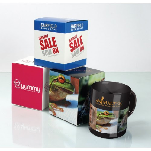 Printed Mug Boxes Personalise With Your Brand Or Logo