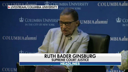 Doubling Down: Ginsburg Blames 'Macho Atmosphere' & 'Sexism' for Clinton Loss