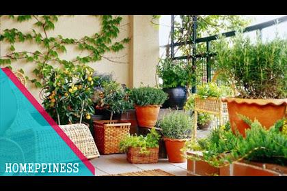 Garden Ideas For Small Balcony