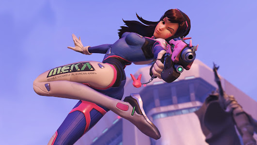 Overwatch's gamer girl hero inspires a feminist movement