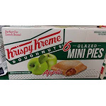 Krispy Kreme Glazed Apple mini Pies 6 Individually wrapped 12oz