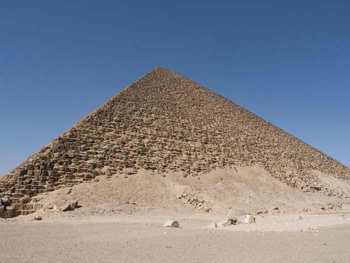King Snefru's Red Pyramid