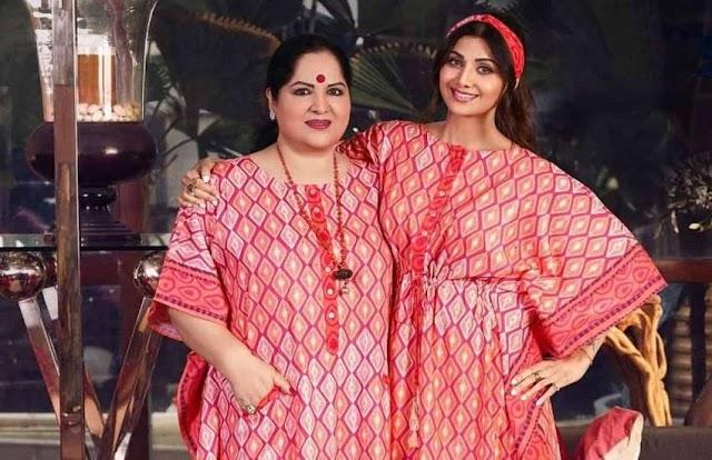 शिल्पा शेट्टी की मां सुनंदा शेट्टी हुई धोखाधड़ी का शिकार, पुलिस ने किया मामला दर्ज