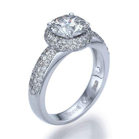 New to shireeodiz on Etsy: Halo Diamond Ring 1.52 TCW