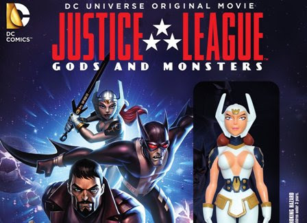Justice League Gods and Monsters coming to Blu-ray