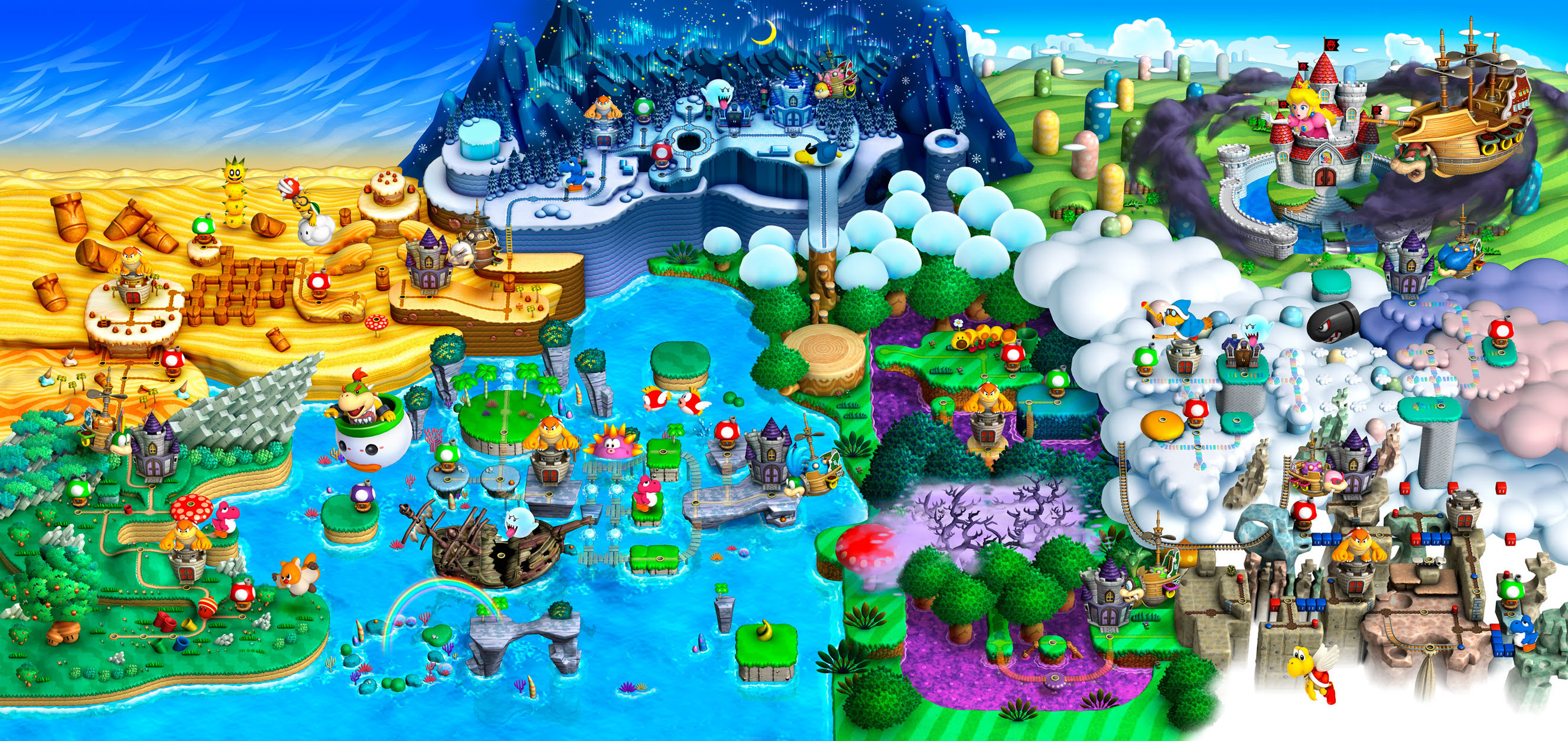 Super Mario World Map Wallpaper 56 Images