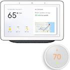 "Google Home Hub Smart Home Control System 7"" - Wi-Fi/ac - White"