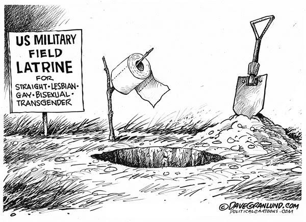 Image result for transgender military cartoons