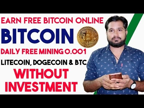Earn Free Bitcoin Daily - 0.002 BTC A Day And Ethereum - Quickly Earning Trick, IndigoCoin