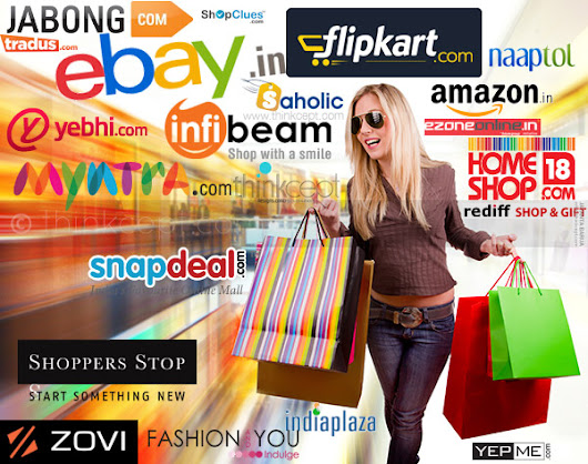 Top online shopping / ecommerce websites in India - Think Blog