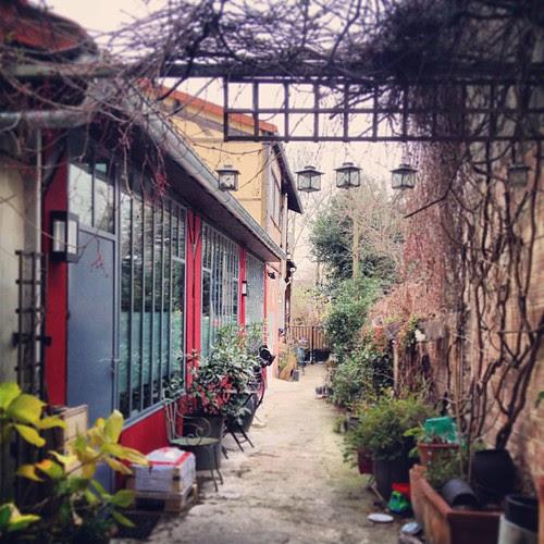 Secret gardens in Montreuil by la casa a pois