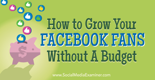 How to Grow Your Facebook Fans Without a Budget