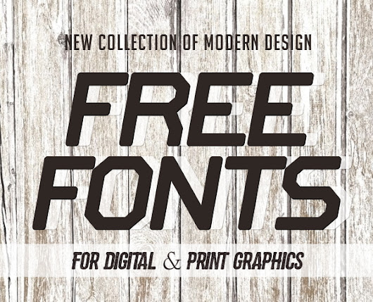 18 New Free Fonts for Graphic Design | Fonts | Graphic Design Junction