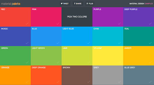 4 Tools for Creating Brilliant Material Design Color Pallets