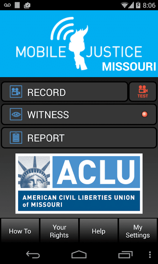 Amazing iPhone App: MO Justice To Ward Office Police Corruption in Missouri