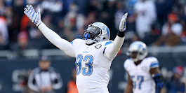 Lighter George Johnson ready to rumble for Detroit Lions again