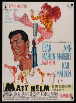 Murderers' Row Danish movie poster (1967). Art by Robert McGinnis