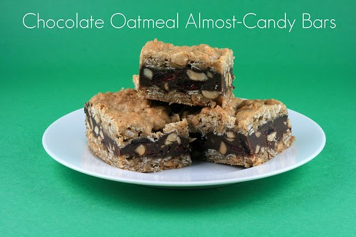 Chocolate Oatmeal Almost-Candy Bars (Tuesdays with Dorie)