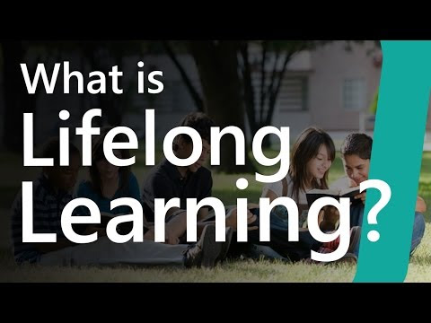 Lifelong learning Definition