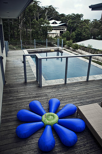 pool and toy