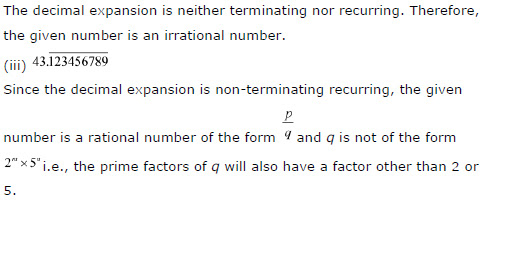 NCERT Solutions for Class 10th Maths: Chapter 1 – Real Numbers, CBSE NCERT Class X (10th) | Mathematics, NCERT CBSE Solved Question Answers, KEY NOTES, NCERT Revision Notes, Free NCERT Solutions Online