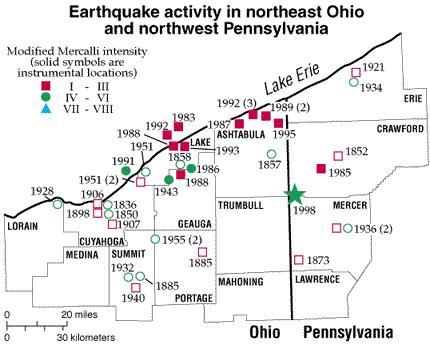 Image Result For Oklahoma Earthquake Fault Line Map