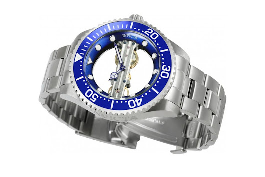 Invicta Pro Diver Skeleton Bridge Mechanical