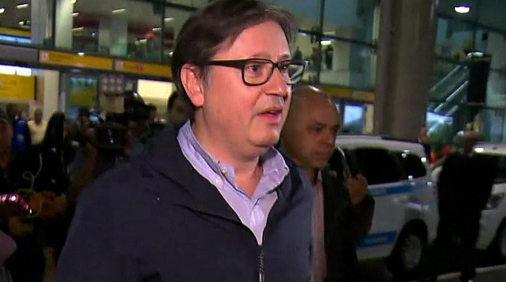 O deputado afastado Rodrigo Rocha Loures (PMDB-PR) (Foto: Reprodução/TV Globo)