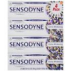 Sensodyne Toothpaste, Extra Whitening - 4 pack, 6.5 oz tube